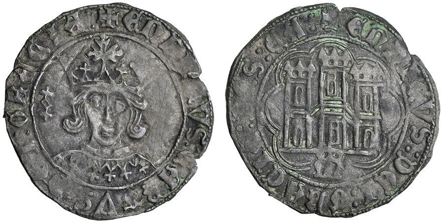 Enrique IV, Maravedí. Medina del Río Seco (MDR). BC+/BC Cuarti10