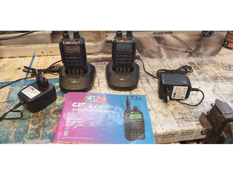 (Vendu) Talkie-walkie PMR 446 0210