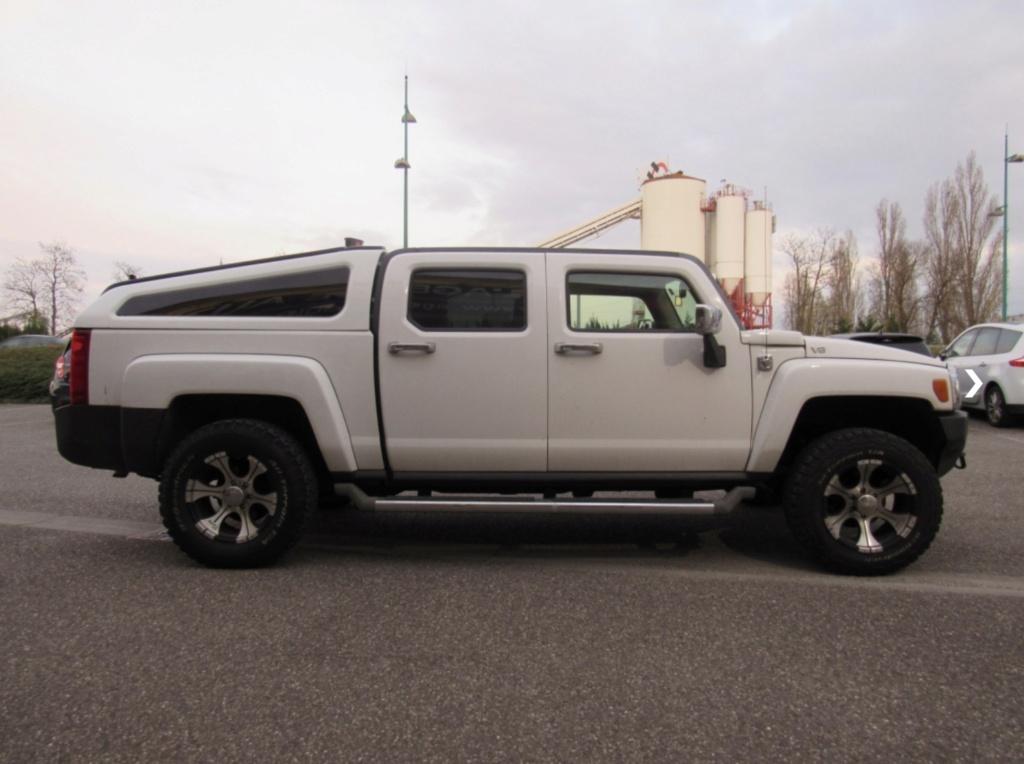 Hummer H3T V8 SUT ALPHA GPL blanc 771ea310