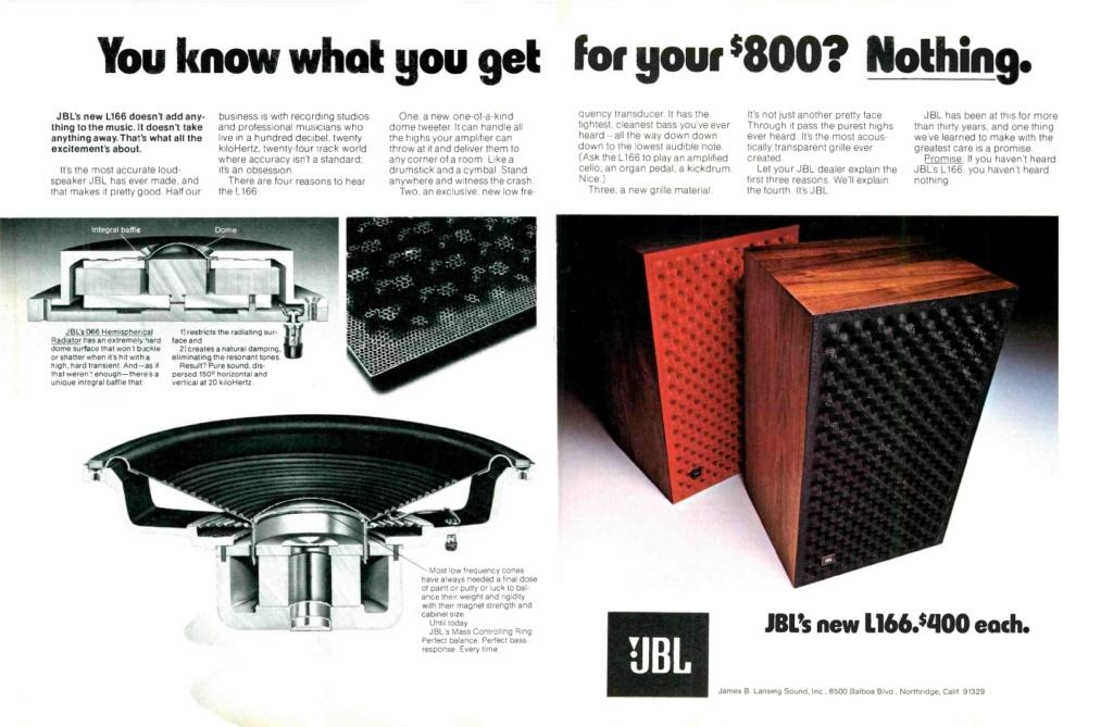 Modèle L166 HORIZON Année 1976/77 Jbl_l111
