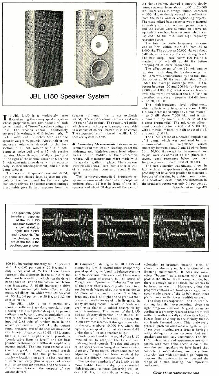 Modèle L150 Année 1979 Jbl_l113