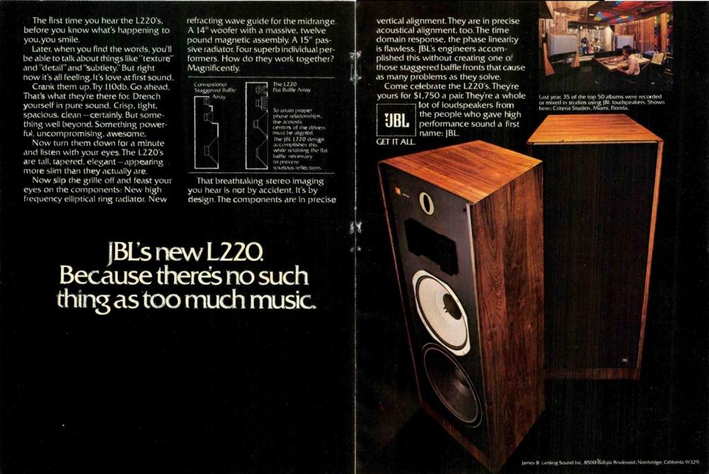 Modèle L 220 Année 1980 Jbl_l210