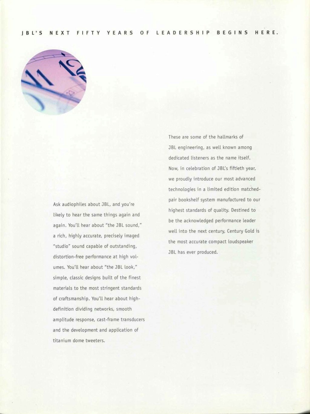 Modèle CENTURY GOLD Page0312