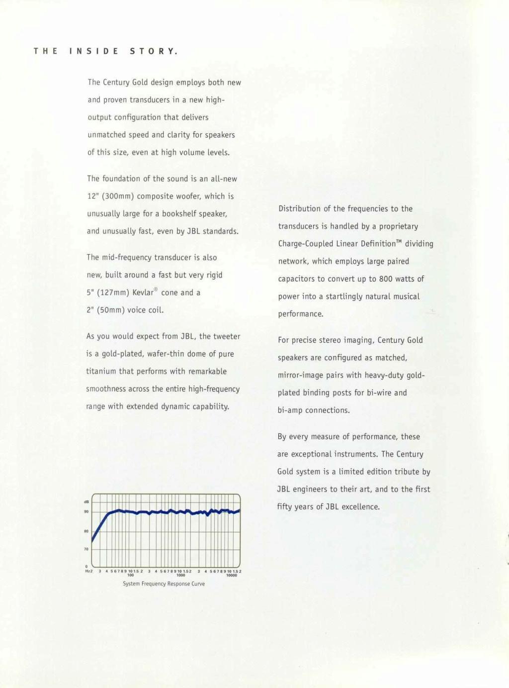 Modèle CENTURY GOLD Page0511