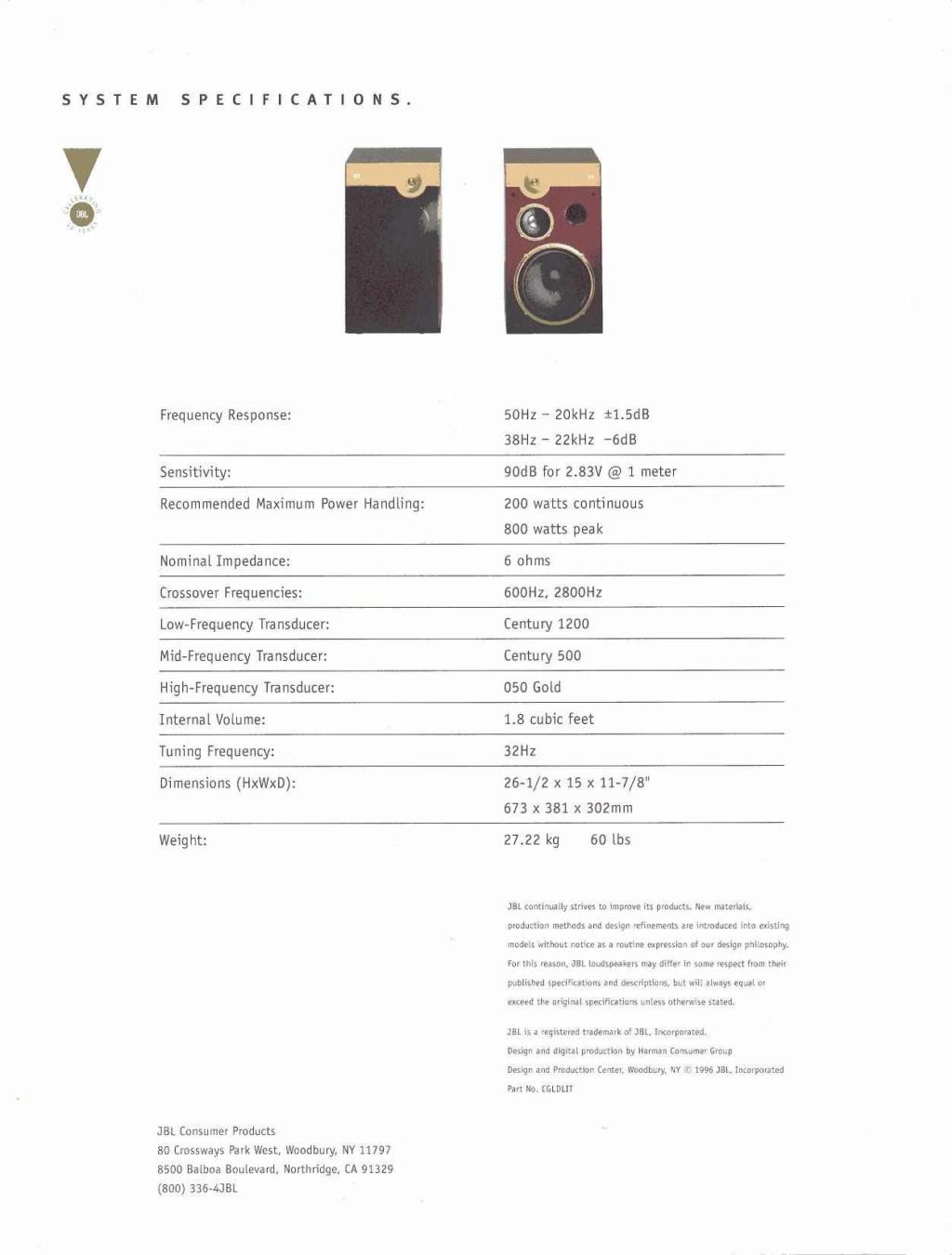 Modèle CENTURY GOLD Page1011