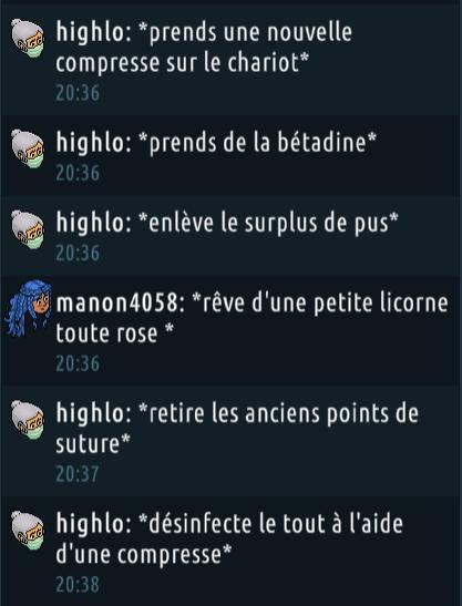 [C.H.U] Rapports d'actions RP de Highlo Captur30