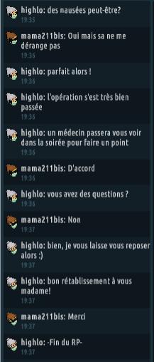 [C.H.U] Rapports d'actions RP de Highlo Captur74