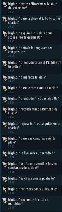 [C.H.U] Rapports d'actions RP de Highlo Captur82