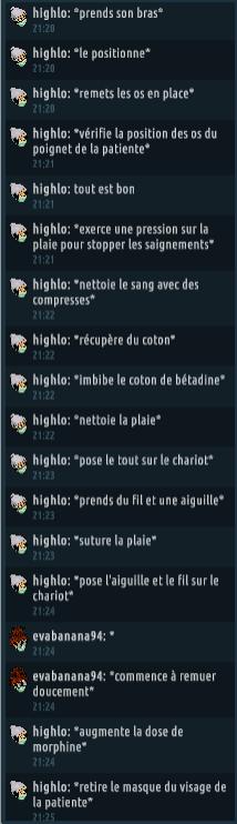 [C.H.U] Rapports d'actions RP de Highlo Captur88