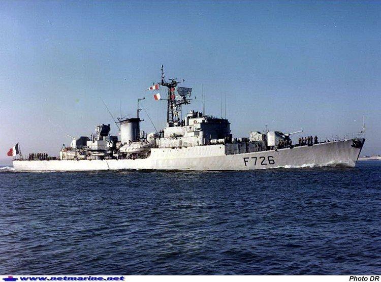 Aviso-escorteur Cdt BORY 1/400 19730311