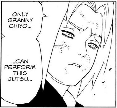 Se o Naruto quisesse podia ter revivido o Gaara sem matar a Chiyo Pain-159