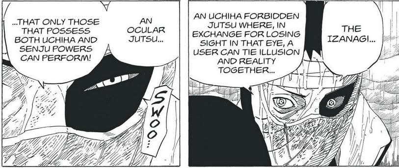É justo considerar Izanagi e Izanami para todo user de Mangekyou? Pain-230