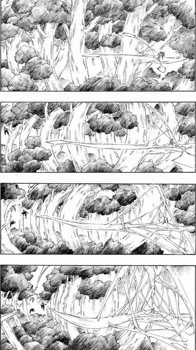 Jiraiya (BASE) vs Hiashi, Neji e Hinata - Página 2 Pain-437