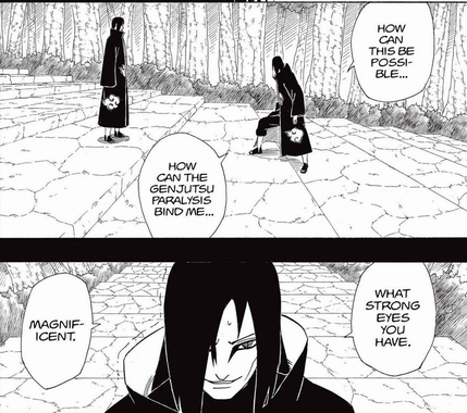 Batendo de frente com o próprio Kishi... Pain-498