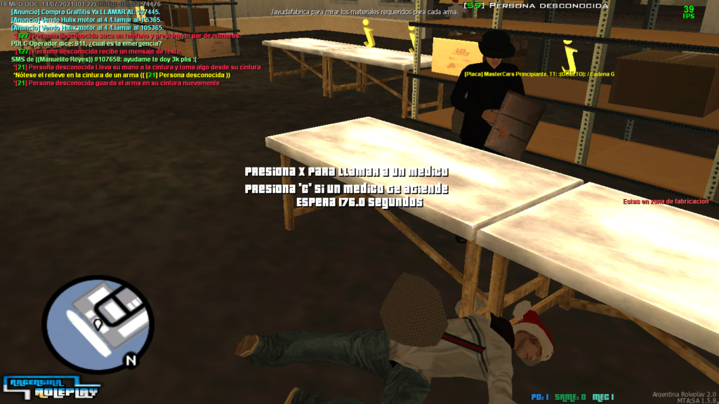 REPORTE: candela ortega (si no se cambio de ID) matar sin sentido Mta-sc18