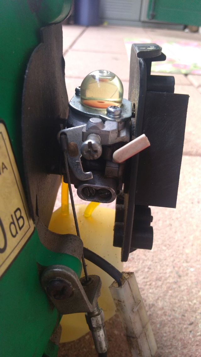 manutenzione decespugliatore CMI 30cc P_202114