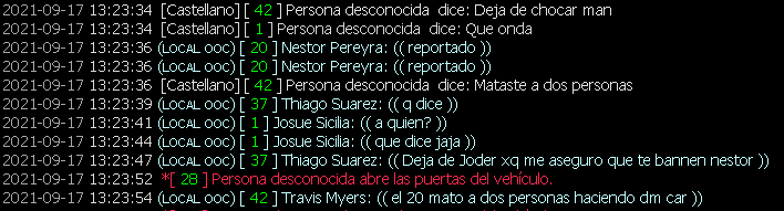 [Reporte]Thiago Suarez y Travis Myers– (DM, NIP, NRE y TROLL) Logss10