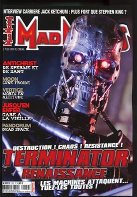 "magazine ""Mad Movies"" 21410"