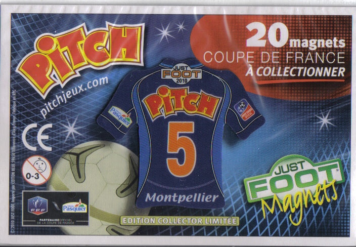Magnets de foot Pitch M11