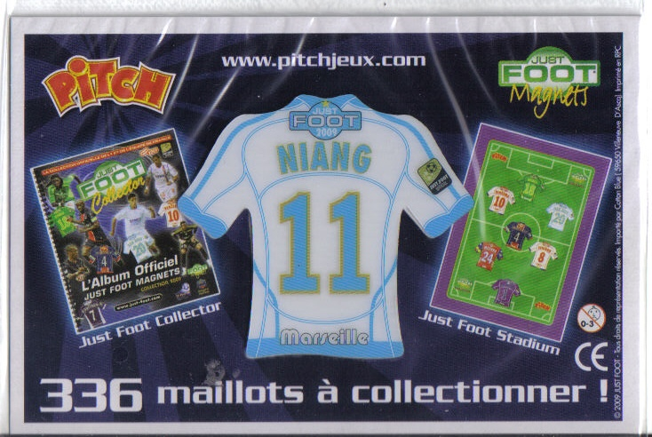 Magnets de foot Pitch Om10