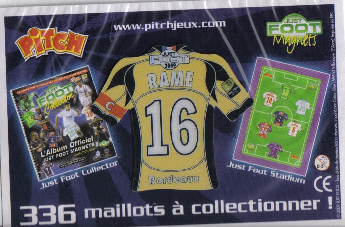 Magnets de foot Pitch P211