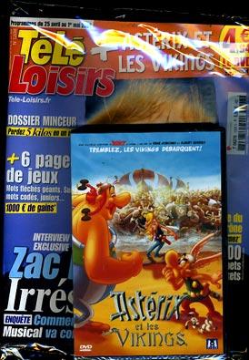 astérix chez télé-loisirs T6276s10