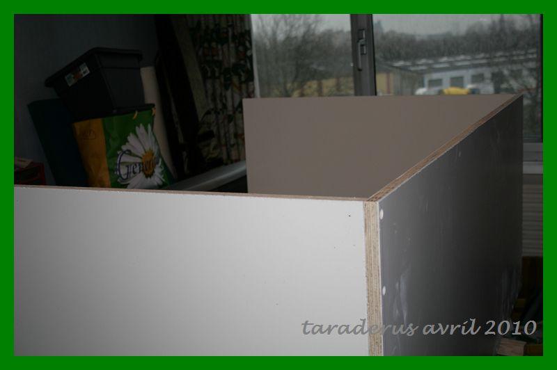 Construction et mise en route de mon bac en bois 2311
