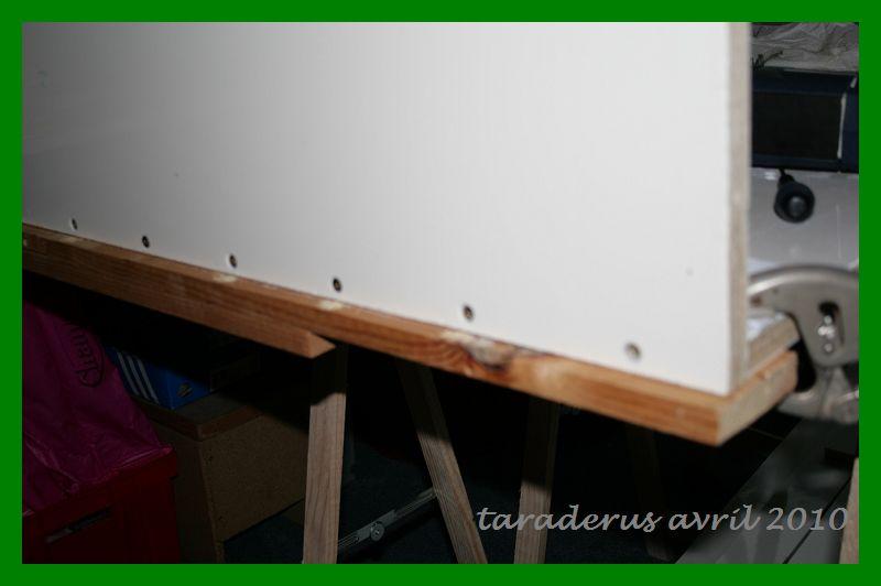 Construction et mise en route de mon bac en bois 2613
