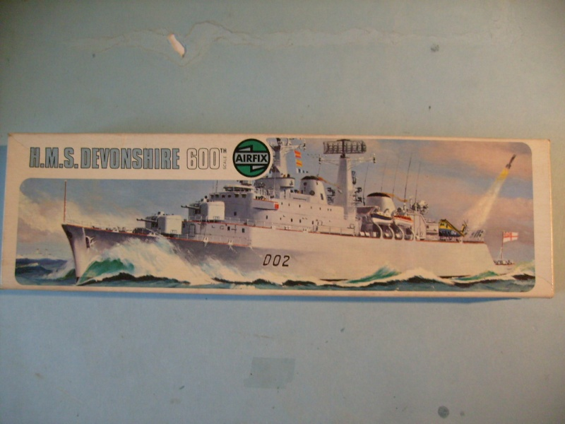 [AIRFIX] Destroyer lance-missile HMS DEVONSHIRE 1/600ème Réf 03202 S7301102
