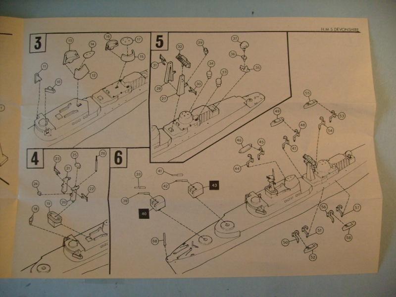 [AIRFIX] Destroyer lance-missile HMS DEVONSHIRE 1/600ème Réf 03202 S7301312