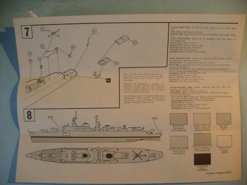 [AIRFIX] Destroyer lance-missile HMS DEVONSHIRE 1/600ème Réf 03202 S7301313