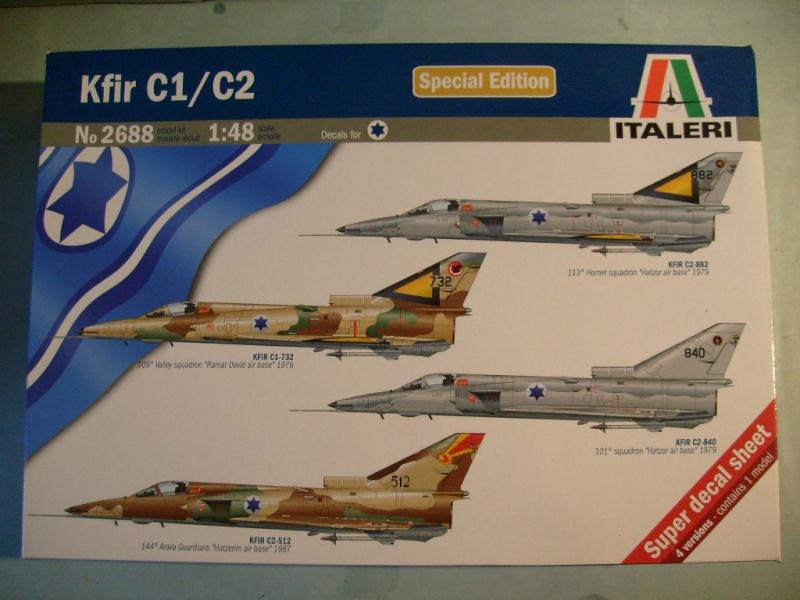 Multi-présentations ESCI/ITALERI quelques  MIRAGE III, F1 et KFIR au 48ème S7301614