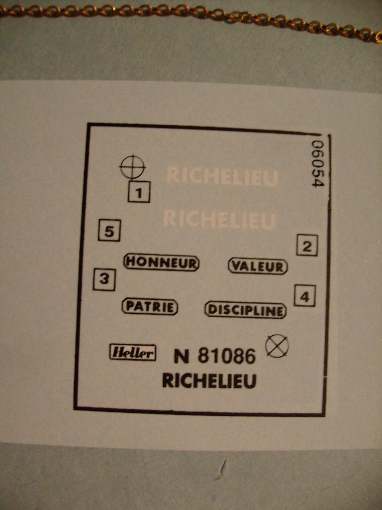 [Heller] Le Richelieu au 400 eme S7301978