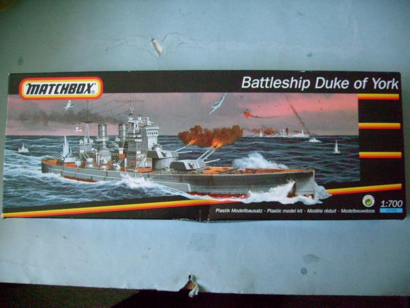[MATCHBOX] Cuirassé HMS DUKE OF YORK 1/700ème Réf 40356 S7301980