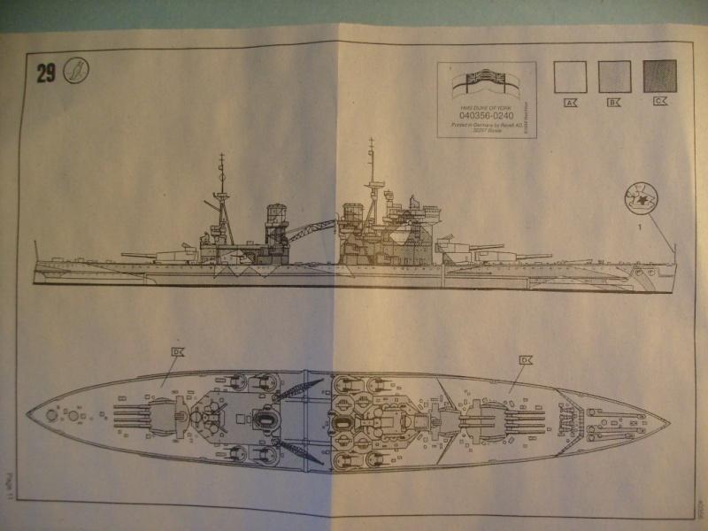 [MATCHBOX] Cuirassé HMS DUKE OF YORK 1/700ème Réf 40356 S7301987