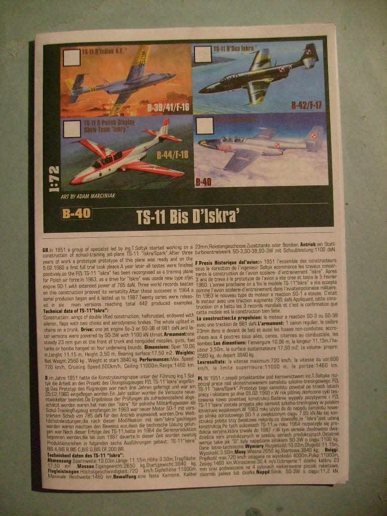 Multi-présentations MASTERCRAFT d avions au 1/72ème S7302071