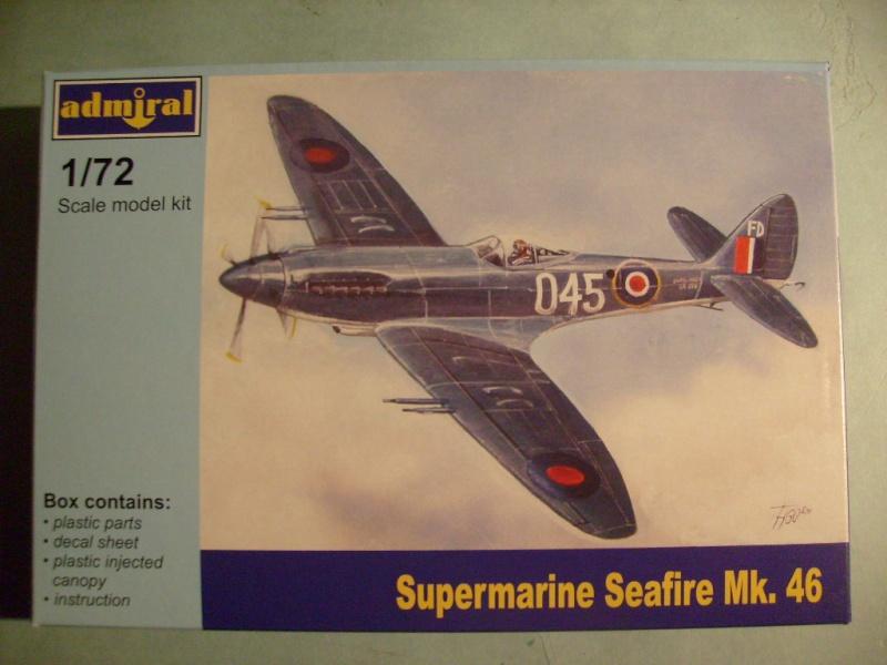 [ADMIRAL] SUPERMARINE SEAFIR Mk 46 1/72ème Réf ADM 7203 S7302087