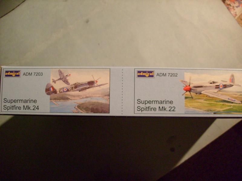 [ADMIRAL] SUPERMARINE SEAFIR Mk 46 1/72ème Réf ADM 7203 S7302089