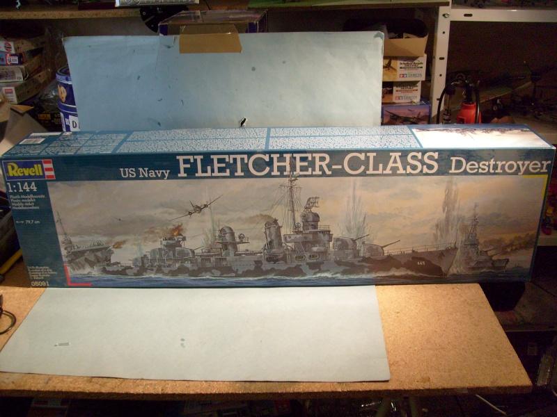 [Revell] destroyer Class Fletcher 144eme S7304216