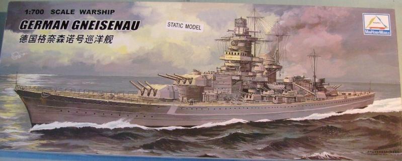 [MINI HOBBY MODELS] Croiseur de bataile SCHARNHORST & GNEISENAU 1/700ème Réf 80917 & 80916 S7308073