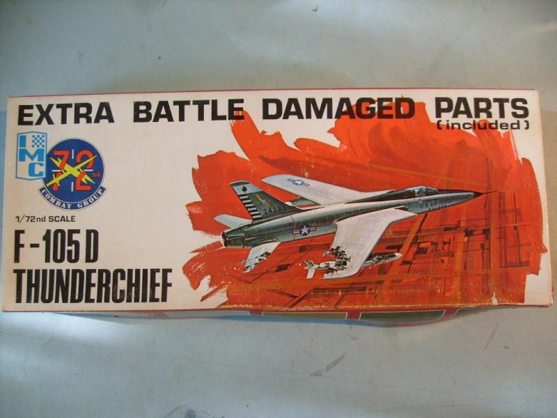 Multi-présentations IMC REPUBLIC F 105 D THUNDERCHIEF et DOUGLAS  A4 E SKYHAWK 1/72ème Réf 483 100 et 485 100 S7308413