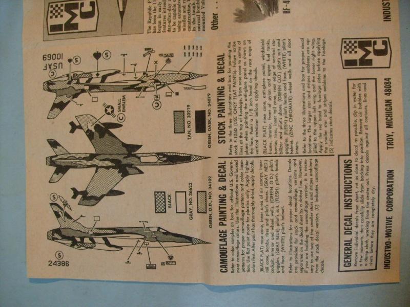 Multi-présentations IMC REPUBLIC F 105 D THUNDERCHIEF et DOUGLAS  A4 E SKYHAWK 1/72ème Réf 483 100 et 485 100 S7308417