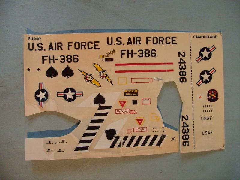 Multi-présentations IMC REPUBLIC F 105 D THUNDERCHIEF et DOUGLAS  A4 E SKYHAWK 1/72ème Réf 483 100 et 485 100 S7308418