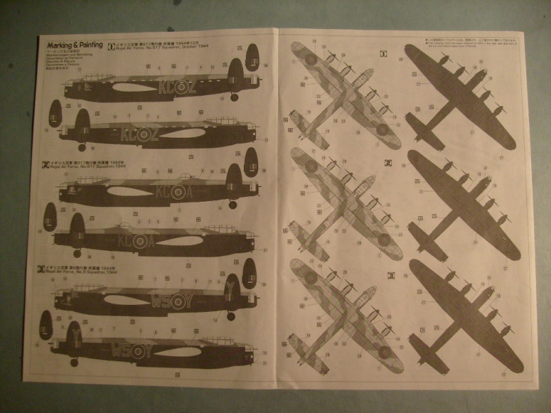 Comparatif AVRO LANCASTER B1 SPECIAL vs AVRO LANCASTER BIII DAM BUSTER 1/72èmeme S7308539