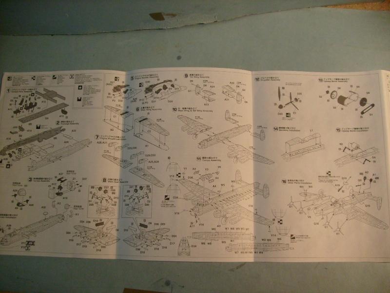 Comparatif AVRO LANCASTER B1 SPECIAL vs AVRO LANCASTER BIII DAM BUSTER 1/72èmeme S7308771
