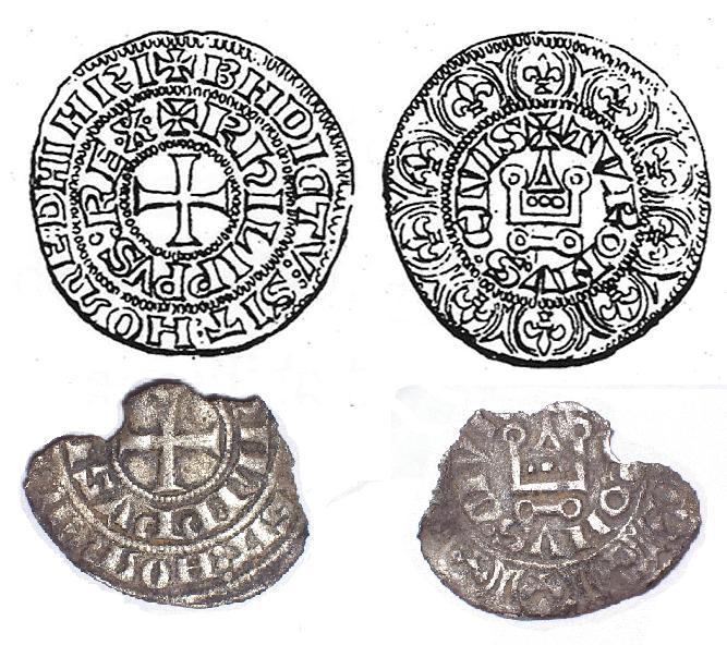 Maille tierce à l'O rond, pour Philippe IV Maille11