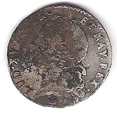 1/20 ème d' Ecu au Bandeau, Louis XV 1743 O Photo210