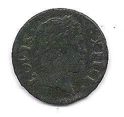 Denier tournois 1649 A LOVIS XIIII Photo_18
