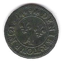 Denier tournois 1649 A LOVIS XIIII Photo_19