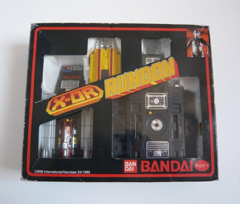 X-OR (Gavan) Sheriff de l'Espace POPY / Bandai Rundon10